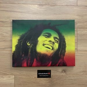 "🔺Bob Marley Portrait 15"" x 11"" Portrait"